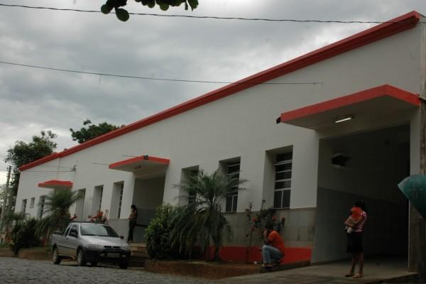 Detida foi levada ao Hospital de Mimoso do Sul. Crédito: BETO BARBOSA