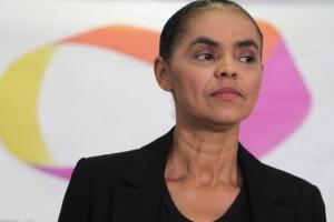 A ex. Senadora Marina Silva durante entrevista sobre Tribunal Superior Eleitoral (TSE)