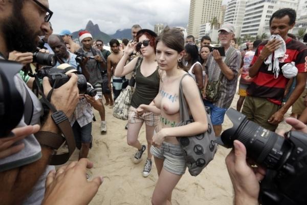 Toplessaço no Rio de Janeiro