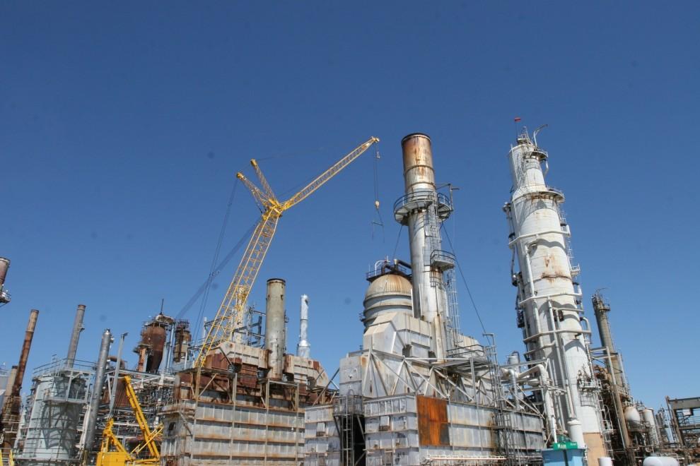 Refinaria Pasadena, no Texas, comprada pela Petrobras. Crédito: Agência Petrobras