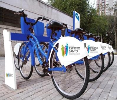 Prévia de como pode ser a bicicleta pública do Espírito Santo