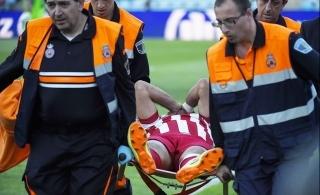 Diego Costa machucou feio