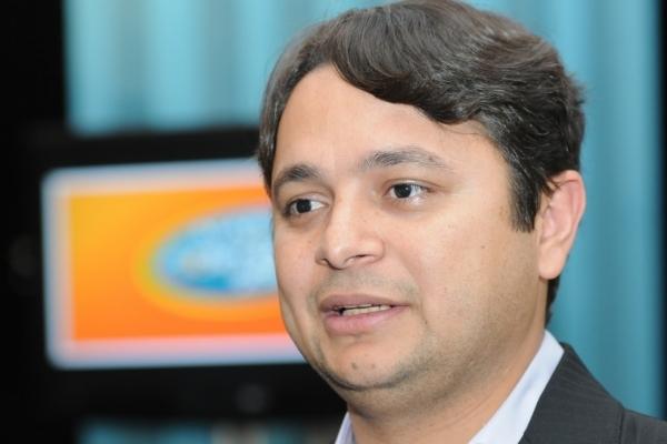 Vandinho Leite, entrevistado sobre a cobertura do Jornal A Gazeta nas olimpíadas de Londres 2012 - Editoria: Esportes. Crédito: Carlos Alberto Silva - GZ