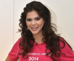 Ingrid Nepomuceno, candidata a miss Esp�rito Santo