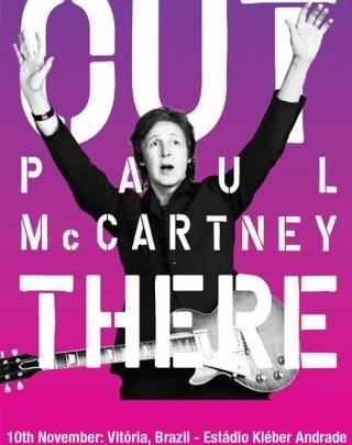 Poster do show de Paul McCartney