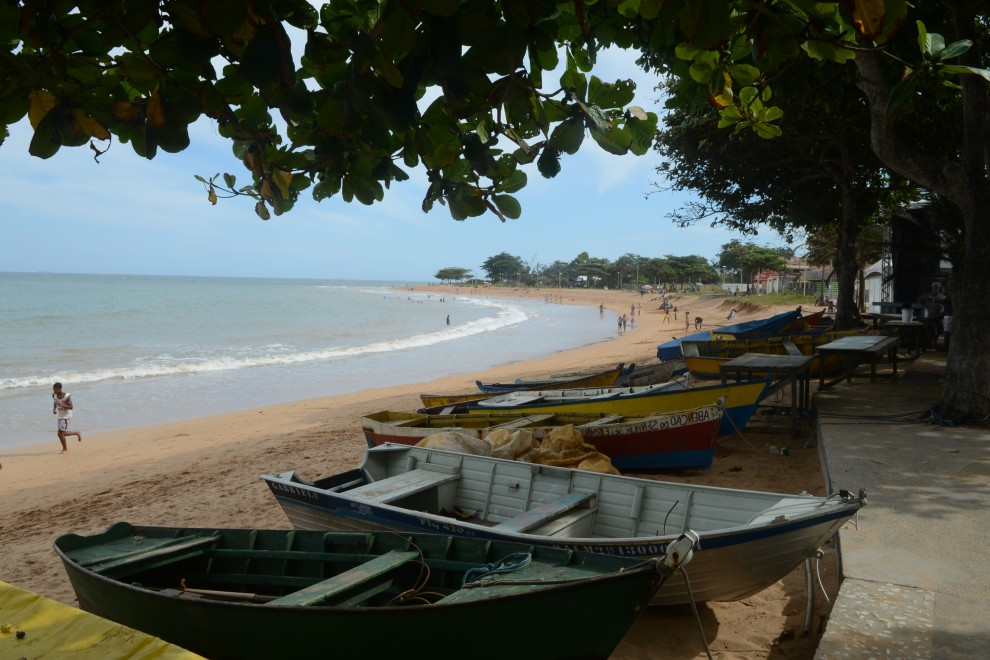 O adolescente desapareceu na Praia de Manguinhos, na Serra, na última quinta-feira (31). Crédito:  Ricardo Medeiros - GZ
