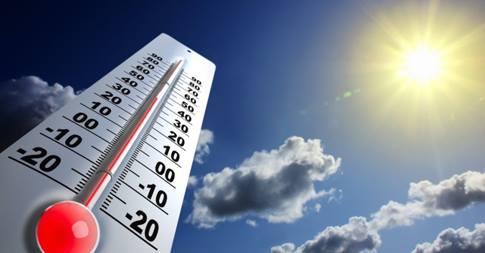Onda de calor na Índia deu origem a uma enorme cúpula de aquecimento sobre o norte do Oceano Índico. Crédito: divulgação