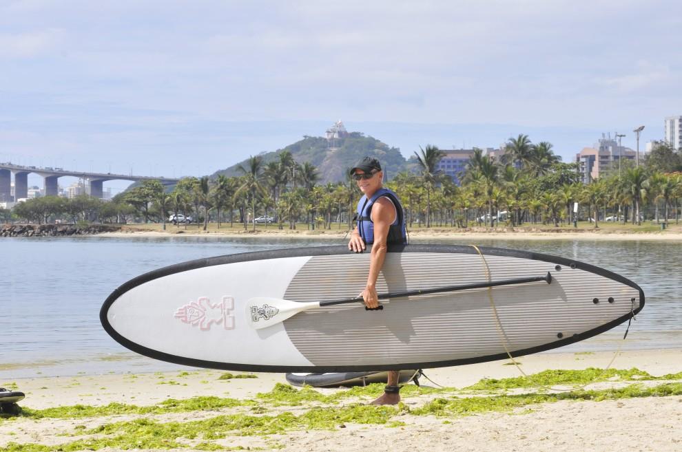 ab05ece52 Stand up paddle  veja como escolher sua prancha - Bem Estar e Saúde -  Gazeta Online
