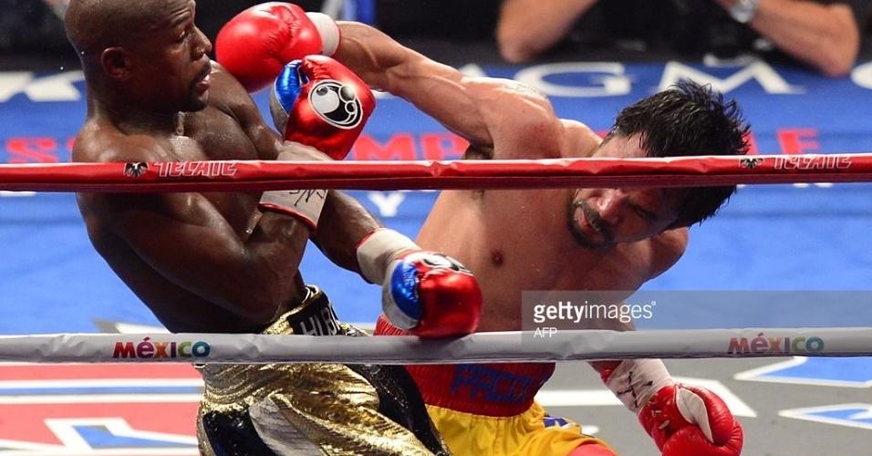 f03a99a4626d8 Mayweather vence Pacquiao por pontos em decisão bastante dividida ...