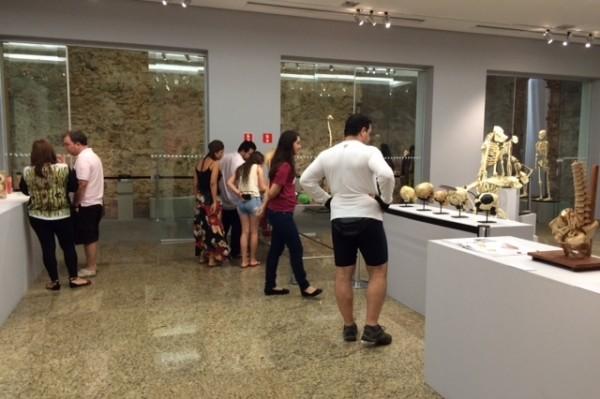 Exposição já recebeu sete mil visitantes em aproximadamente duas semanas