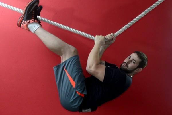 Thiago Brito perdeu 10 kg praticando crossfit em apenas um mês e melhorou a saúde