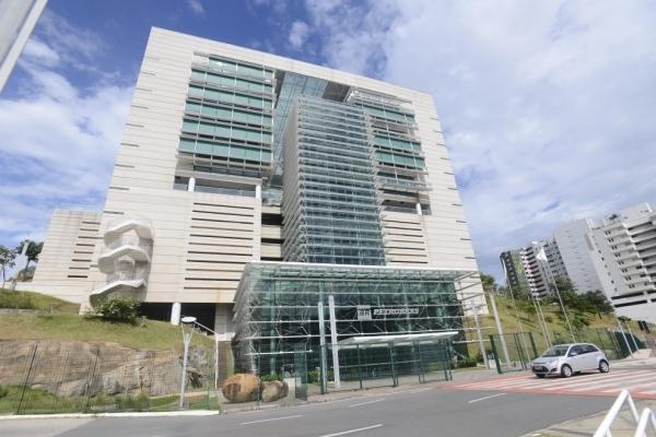 Sede da Petrobras na Reta da Penha, em Vitória. Crédito:  Vitor Jubini