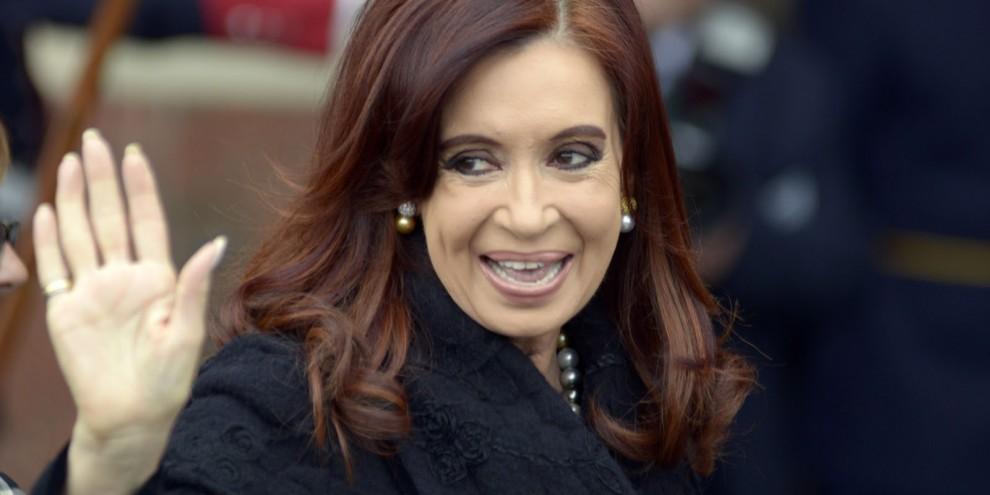 Cristina Kirchner . Crédito:   Arquivo