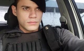 Ítalo Bruno Rocha, policial militar do GAO morto em Jardim Carapina. Crédito:   Reprodução