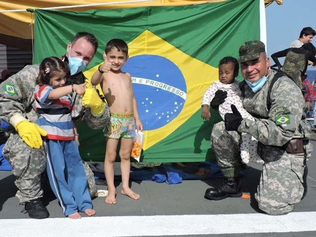 Atualmente 1,1 milhão de pessoas estão em uma dessas situações. Crédito: Marinha do Brasil