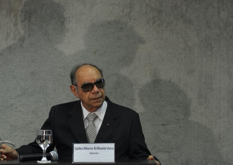 "Coronel Ustra, acusado de tortura, foi chamado de ""herói"" por Bolsonaro. Crédito: Wilson Dias/ABr"