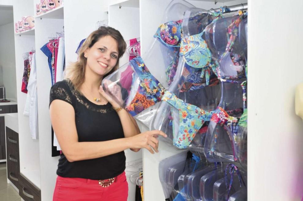 30f419b9bb Sucesso com biquínis - Os biquínis têm alavancado as vendas da loja UP  Mulher