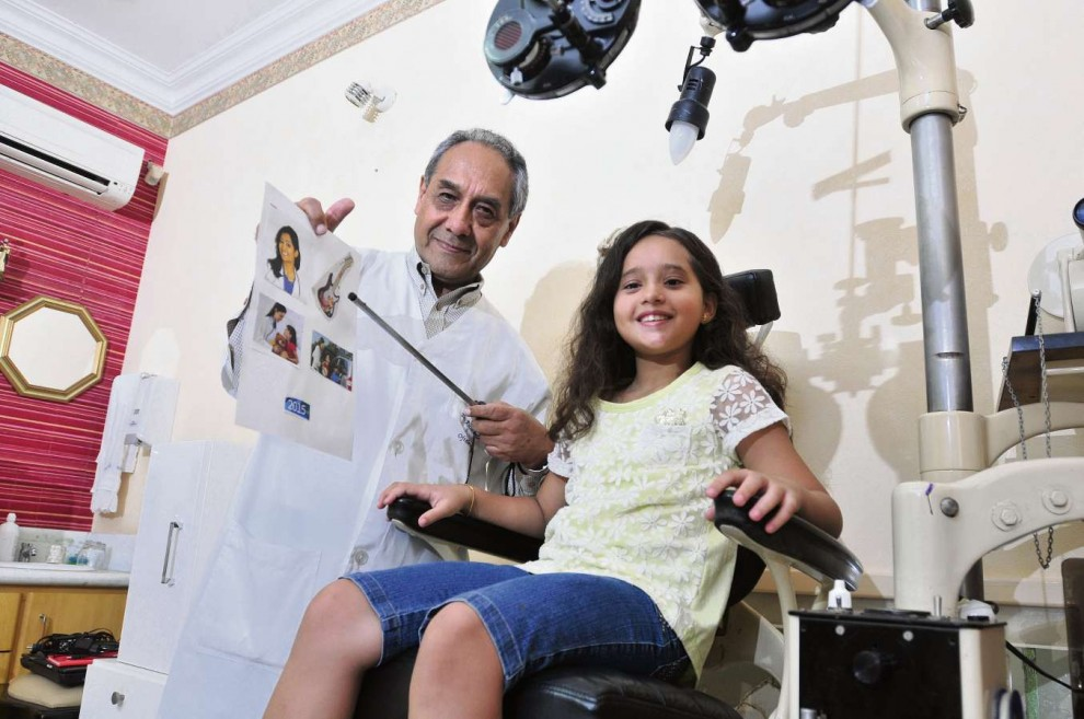 646a9517669d3 Juliana, 9, tem estrabismo e faz tratamento desde os 2 anos com o  oftalmologista