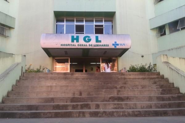Vítima foi socorrida para o Hospital Geral de Linhares (HGL). Crédito: Amabily Caliman