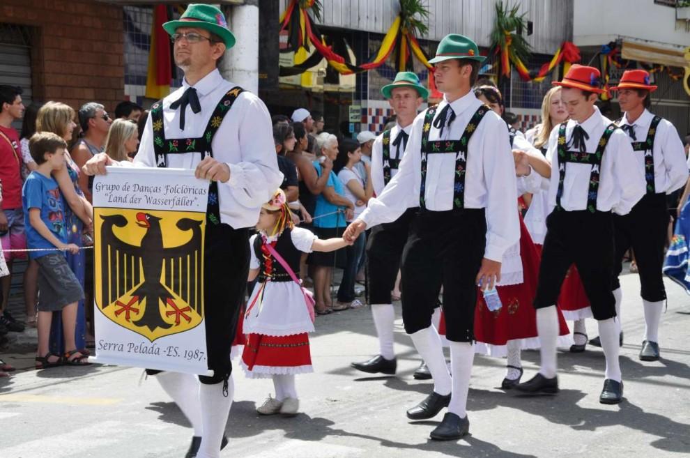 Desfile Cultural da Sommerfest . Crédito: Reprodução/Divulgação/Arquivo