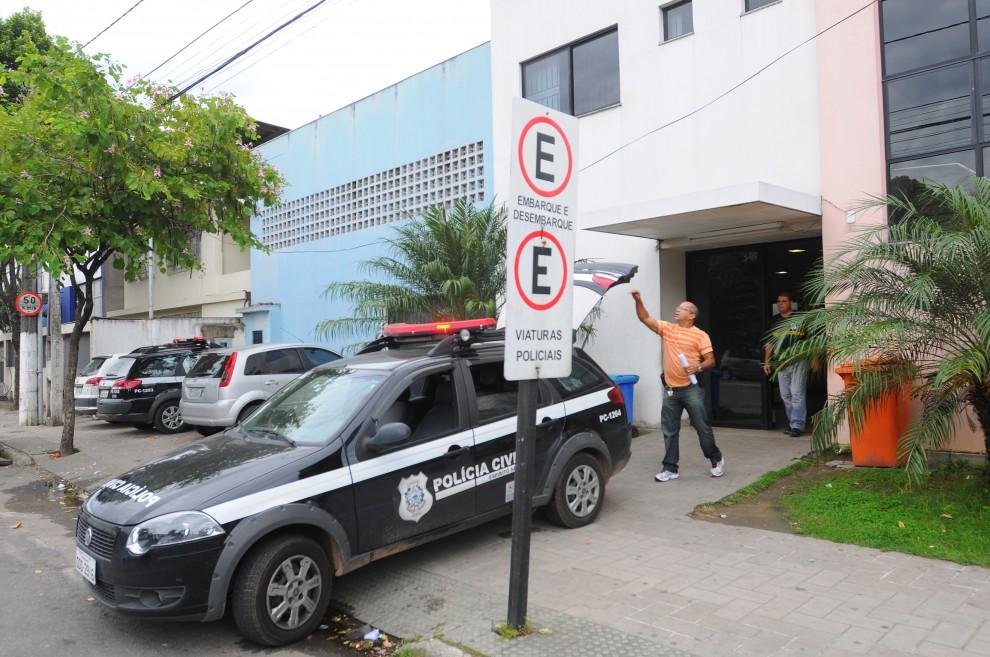 Ocorrência foi registrada na 1ª Delegacia Regional de Vitória . Crédito: Edson Chagas/Arquivo