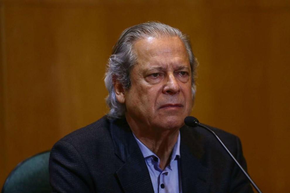 O ex-ministro José Dirceu. Crédito: Gabriel José/Estadão Conteúdo