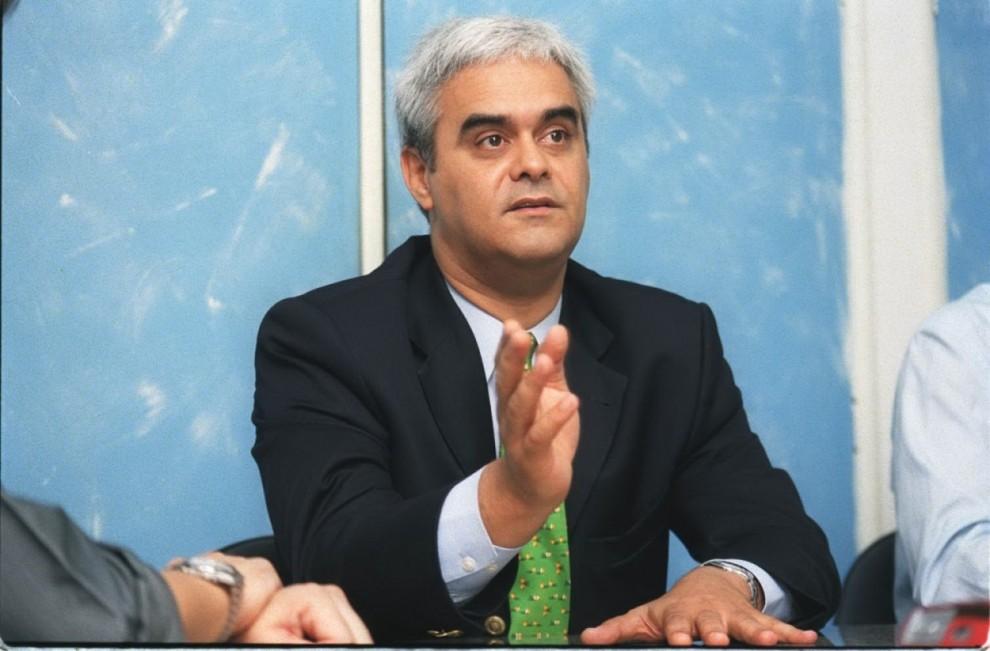 José Carlos da Fonseca Junior, Presidente do PFL . Crédito: Gildo Loyola/Arquivo