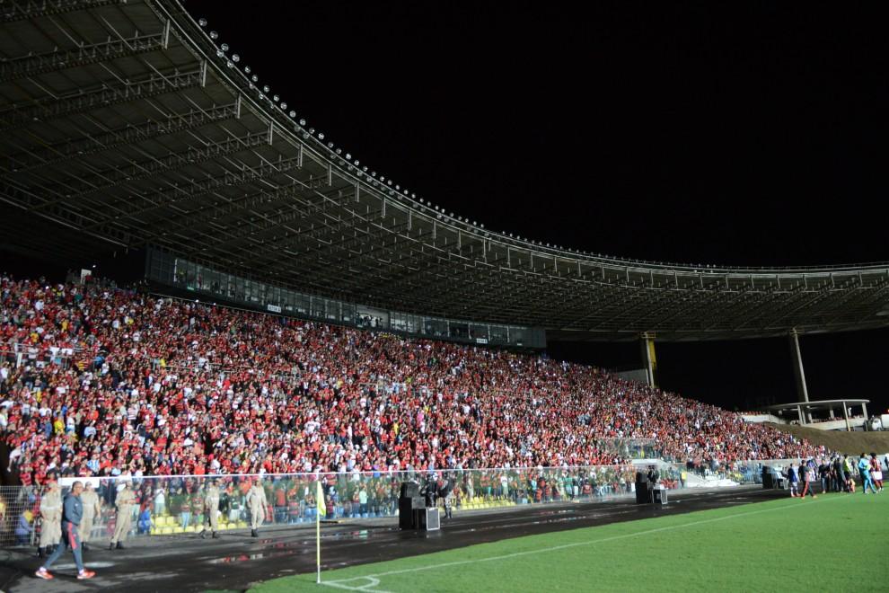 O Kleber Andrade mais uma vez receberá o Flamengo, desta vez em partida valendo o troféu da Taça Guanabara. Crédito: Carlos Alberto Silva