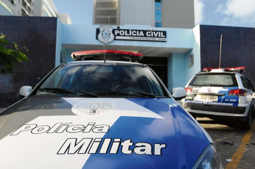 O caso foi registrado na Delegacia Regional da Serra. Crédito: Beto Morais