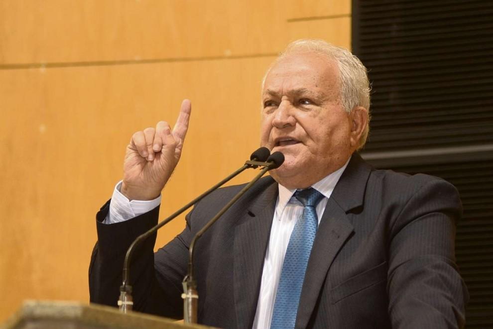 Theodorico Ferraço (DEM) é deputado estadual e pai do senador Ricardo Ferraço (PSDB). Crédito: Reinaldo Carvalho / Ales