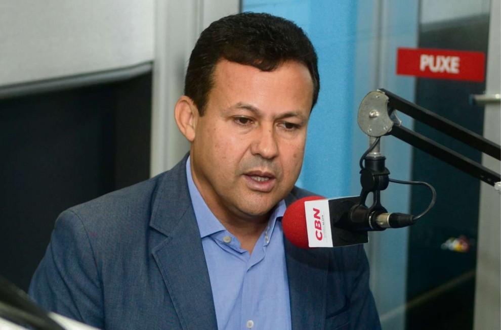 Neucimar Fraga (PSD) foi sabatinado nesta terça-feira (30) na rádio CBN Vitória. Crédito: Ricardo Medeiros