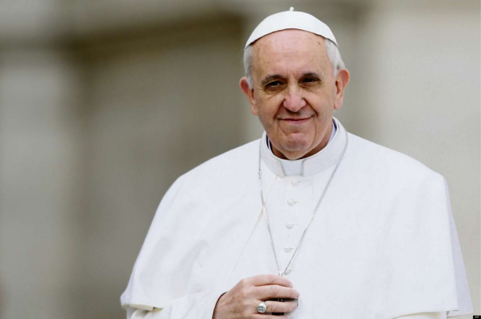 Papa Francisco. Crédito: Divulgação