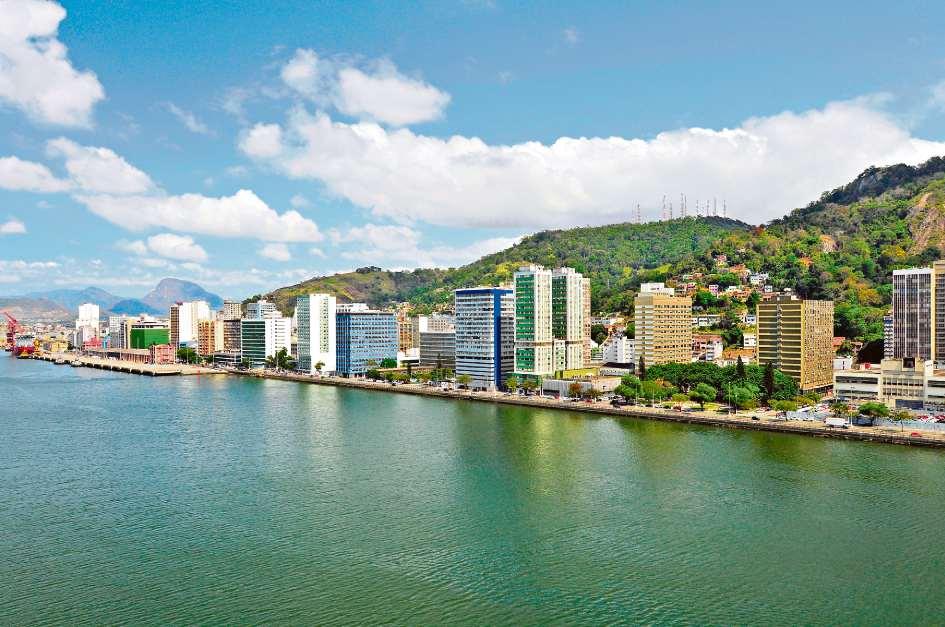 Em várias regiões da cidade de Vitória, como o Centro,  donos de imóveis têm que pagar  taxa de marinha. Crédito: Marcelo Prest   Arquivo   GZ