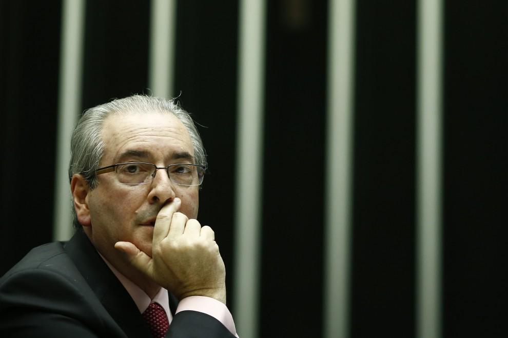 Eduardo Cunha . Crédito: Dida Sampaio