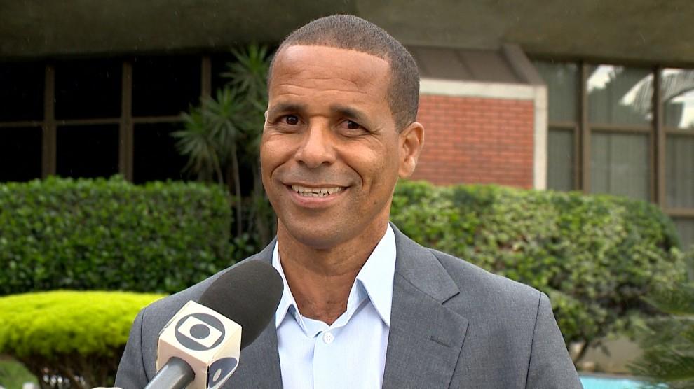 O prefeito de Cariacica, Geraldo Luzia Junior, o Juninho. Crédito: Reprodução