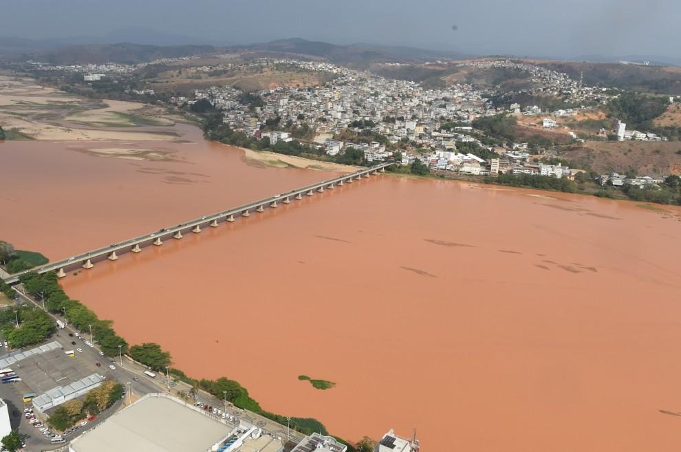 Rio Doce em Colatina. Crédito: Governo do Estado   Arquivo