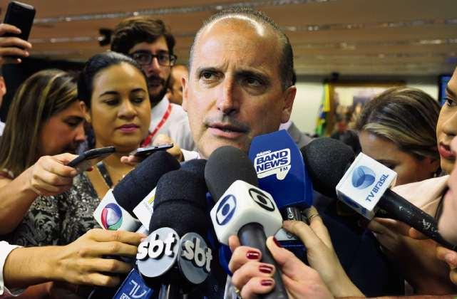Onyx Lorenzoni é o futuro chefe da Casa Civil no governo do presidente eleito Jair Bolsonaro. Crédito: Luís Macedo/Ag. Câmara