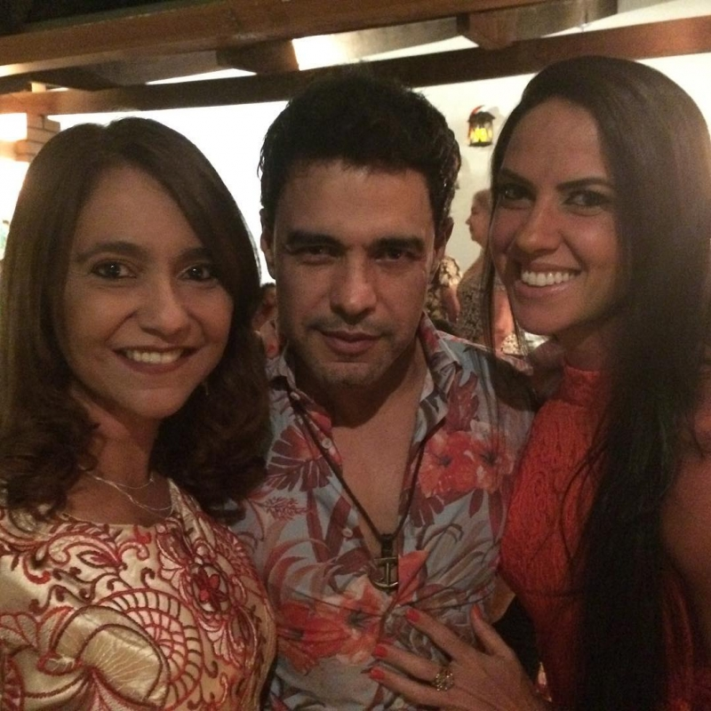 72ab2fbae Zilu rebate crítica de irmã de Zezé Di Camargo   Orar mais e fofocar ...