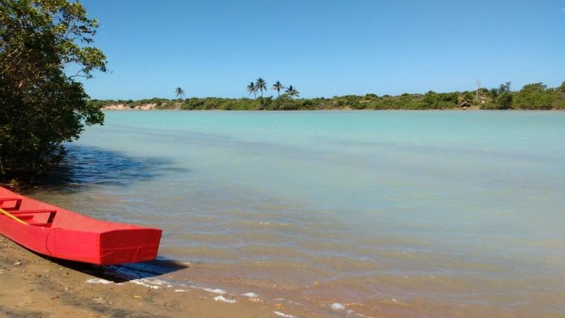 Internauta registra rio Barra Seca com água cristalina. Crédito: Samira Ferreira