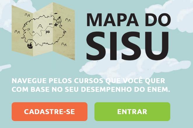 Mapa do Sisu. Crédito: Reprodução | Internet