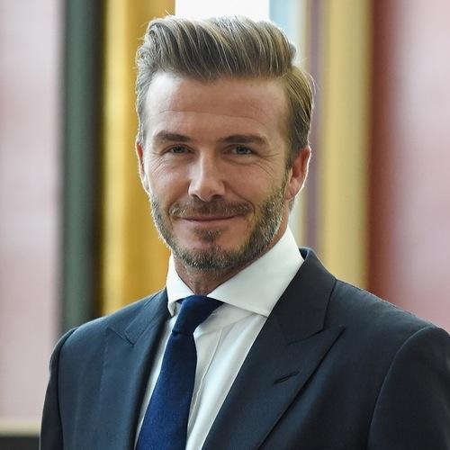 Ex-jogador de futebol David Beckham