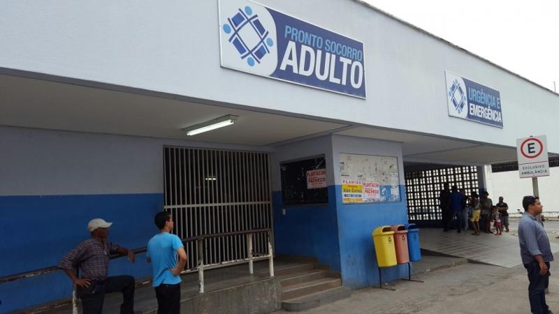 Mulher foi socorrida e encaminhada para o Hospital Geral de Linhares (HGL). Crédito: Michel Freitas