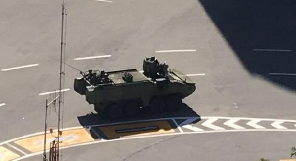 Tanques do Exército foram vistos nas ruas de Vitória e Vila Velha