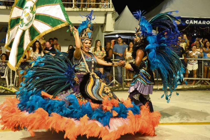 Desfile da escola de samba Piedade no Carnaval de Vitória 2017