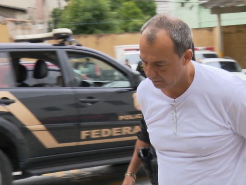 Sérgio Cabral. Crédito: Reprodução | TV Globo