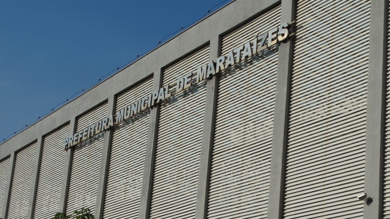 Prédio da Prefeitura de Marataízes