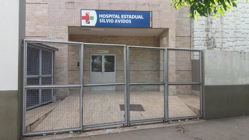 Hospital Silvio Avidos, em Colatina, foi o local para onde a vítima foi socorrida. Crédito: Brunela Alves