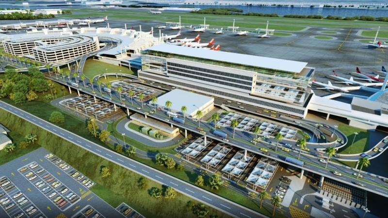 Aeroporto do Galeão, no Rio de Janeiro. Crédito: Divulgação