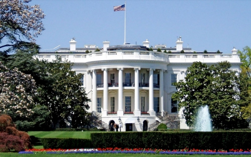 Casa Branca, sede do governo dos Estados Unidos. Crédito: Creative Commons