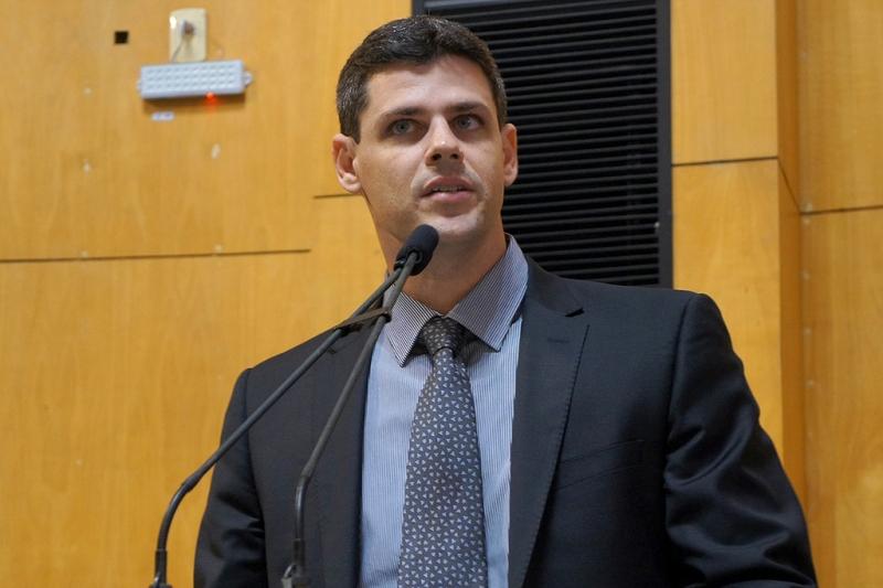 O secretário de Estado da Fazenda, Bruno Funchal. Crédito: Tati Beling/Ales